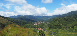 View of Boquete Valley