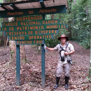 Jason Birding in Darién Province