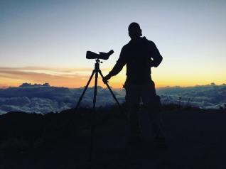 Jason Atop Volcan Barú